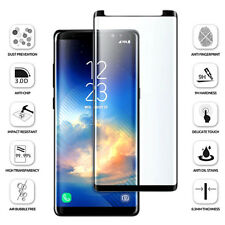 Samsung Galaxy Note 8 [Case Friendly] 5d Tempered Glass Screen Protector-Black