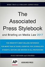 The Associated Press Stylebook 2017: and Briefing on Media Law [Associated Press