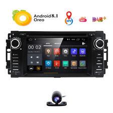 Android 8.1 Autoradio Navi WiFi BT 4G DAB+ GRAND JEEP COMMANDER DODGE 300C