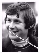 Jean-Pierre Jarier Original B&W Autocourse Period Press F1 Osella Portrait