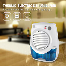 Portable 400ML Thermo-electric Mini Dehumidifier Quiet Home Air Dryer Damp-proof