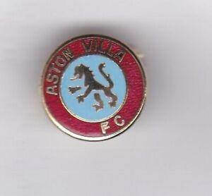 Aston Villa  - lapel badge No.1 brooch fitting