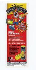 Slazenger, Crash Bandicoot PRINT ADVERTISMENT. 1997