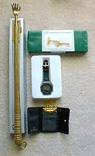 SMALL GIFTS LOT, CHRISTMAS GIFT EXCHANGE, BACK SCRATCHER TOOL SET KEY CASE WATCH