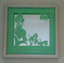 "Beautiful Irish Blessing Mirror approx 10"" Square!*"