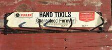 Vintage Store Display Metal Rack Fuller Professional Hand Tools 1960's Original