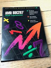 NEW OLD STOCK Intel AMD 80287 287 Math coprocessor CPU for 286 IBM PC PS/2 - NOS