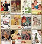 32 pcs Vintage Retro Posters Old Travel Postcards Wall Decoration Cards Set