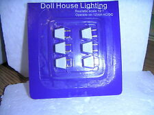 DOLLS HOUSE ( Dolls House Lighting Male Plugs