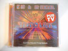 K 10 & ST MICHEL : TEKNO LIVE (HOUSE PROGRESSIVE - 1996)  || CD NEUF ! PORT 0€