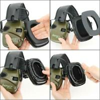 Tactical electronic earmuffs gel ear pads are suitable for shooting headphones