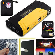 USB 2 Ports 12V 68800mAh Car Jump Starter Charger Booster Power Bank Battery OY
