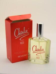 Charlie Red Revlon EDT 3.4 fl oz 100ml New With Cap In Damaged/Open Box