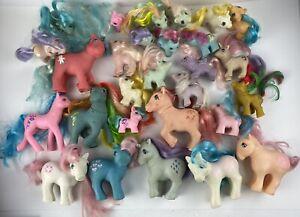 Vintage 1980s MLP G1 Hasbro My Little Pony Ponies Baby Teeny Lot of 28