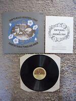 Tufty Swift How To Make A Bakewell Tart UK 1977 Free Reed Folk Vinyl LP A2/B2