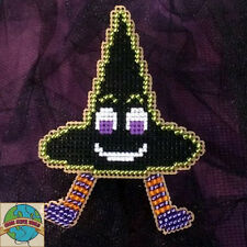 Cross Stitch Kit ~ Halloween Witch Hat Buddy #K025