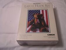 American Bear-Latch Hook Kit Mostly Sealed
