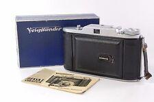 Vintage 6x9 FOLDING CAMERA Voigtländer Bessa with Vaskar 105MM 4.5 ref.511163