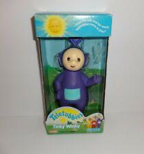 """Vintage 1998 Teletubbies ~ Tinky Winky ~ Purple 7"""" Doll Figure Playskool New!"""