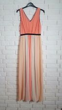 Vila Colour Block Pleated Maxi Dress size XS