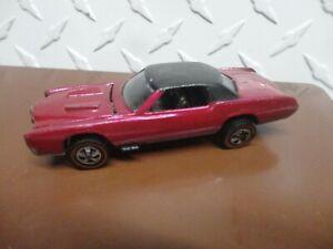 Original Hot Wheels Redline Pink Custom Eldorado See Pictures Best Description