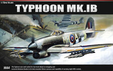 Academy 1:72 Scale - Hawker Typhoon Mk.1b Model Kit 12462