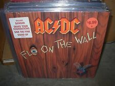 AC/DC fly on the wall ( rock ) sticker - masterdisk & RL -