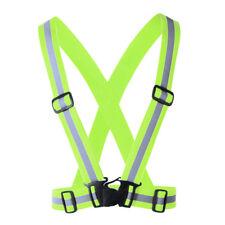 Good Safety Vest Waistcoat High Visibility Reflective Fluorescent Belt Protable