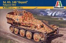 "Italeri 6461. Maqueta de tanque blindado Sd-Kfz-140 ""Gepard"". Escala 1/35"