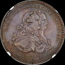 RARE 1796 MEXICO GROVE C268a EL CABALLITO NGC MS63 MEDAL TONED ONLY 1 @ NGC PCGS