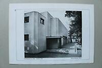 BB1) Bauhaus Architektur Walter Gropius 1928 Jena Stadttheater Umbau 1923 Modern