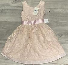 Flower Girl Bridesmaid Dress Lace Bow Wedding Dress Sash  Princess Lace Sparkle