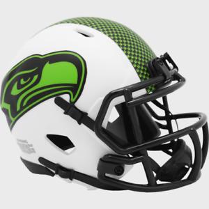 Seattle Seahawks Lunar Eclipse Alternate Riddell Speed Mini Helmet New in box