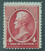 US Stamps Collection Scott #215 4c Jackson Mint NH OG