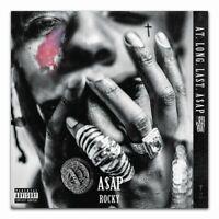 Y126 ASAP Rocky A$AP Mob Cozy Tapes Vol 1 Rapper Album Fabric Poster 16x16 24x24