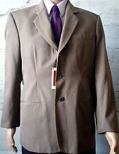 Axis Men's Elegant Suit Jacket Size Medium Beige New NWT