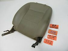 05-07 ESCAPE RIGHT FRONT SEAT BACK UPPER TOP SECTION PASSENGER RF R TAN LEATHER
