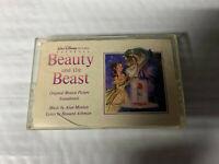 Beauty and the Beast Soundtrack Cassette Tape Walt Disney 1991