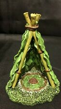 Fairy Garden Accents Windmill, Awning With Mushrooms, Leaf Tent