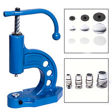 Knopfpresse, Knöpfe zum Beziehen mit Stoff, Werkzeug für Knopfmaschine, Presse
