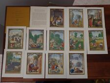 SELECTION OF TWELVE MINIATURES FROM THE DA COSTA HOURS MANUSCRIPT 399 - AWESOME!
