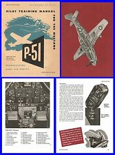 P51 Mustang Pilots Training Manual on CD