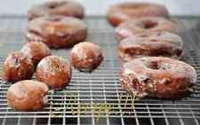 "☆Old Fashion Glazed Sour Cream Doughnuts ""RECIPE""!☆Moist, Sweet & Delicious!☆"