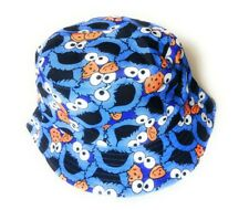 Nice  New Cookie monster style  Bucket hat festival outdoor holiday hats