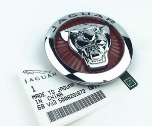 1x 86mm Car Auto Front Hood Grille Emblem Sticker Decal Badge Logo For Jaguar XF