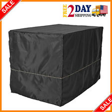 """New listing 48"""" Extra Large Giant Breed Dog Crate Kennel Xl Pet Wire Cage Huge Folding Cover"""