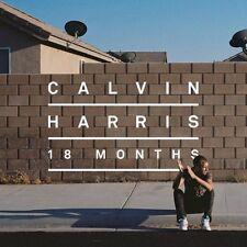 MUSIC CD ALBUM CALVIN HARRIS 18 MONTHS LOOK 15 TRACKS BOUNCE KELIS EXAMPLE SONY.