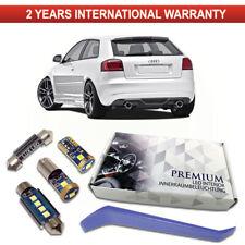 Audi A3 8P LED Interior Premium Kit 10 Bulbs Error Free Canbus 8P1 8PA 2003-2013