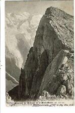 CPA-Carte Postale-France-Sommet du Brévent et le Mont Blanc-1915 VM18187