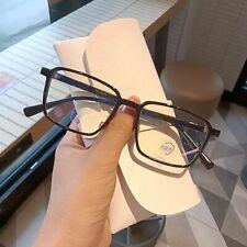 Anti-Blue-ray Glasses TR Retro Small Square Frame Glasses Frame Men and-Women